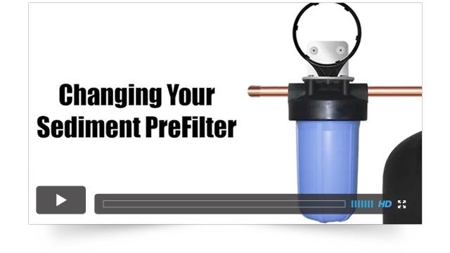 Sediment Filter Changes