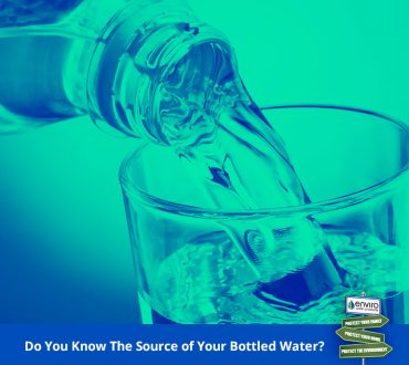 Do You Know The Source of Your Bottled Water?
