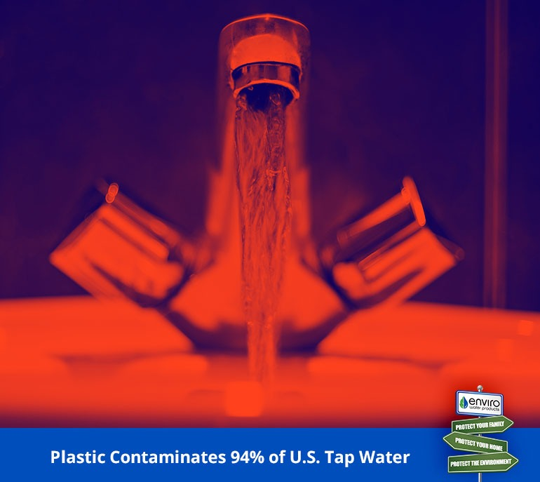 Plastic Contaminates 94% of U.S. Tap Water